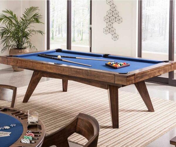 Pool Table in Modern Home | everythingbilliards.net